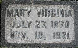 Mary Virginia <I>Settergren</I> McCarthy