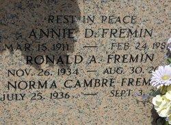 Norma <I>Cambre</I> Fremin