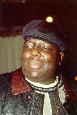"""Christopher """"Notorious B.I.G."""" Wallace"""