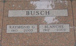 Blanche Zera <I>Buczwinski</I> Busch