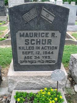 Pvt Maurice R. Schur