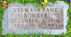 Velma <I>Turner</I> Wyant-Bowser