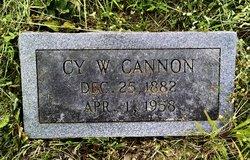 "Cyrus Washington ""Cy"" Cannon"