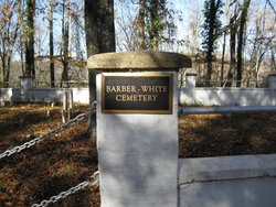 Barber-White Cemetery