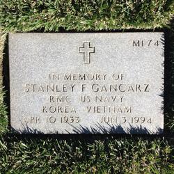 Stanley Frank Gancarz