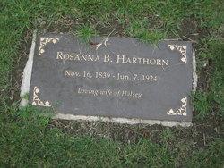 "Rosanna Brown ""Rose"" <I>Hooper</I> Harthorn"