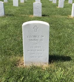George W Simms, Jr