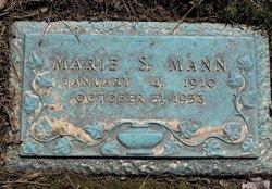 Marie <I>Farnsworth</I> Mann