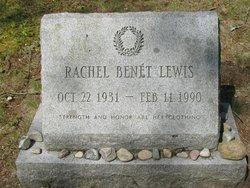 Rachel Felicity <I>Benet</I> Lewis