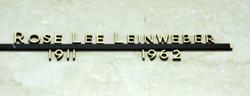 Rose Lee <I>Majewskey</I> Leinweber