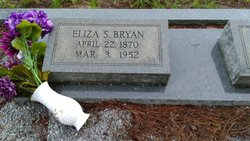 "Eliza Jane ""Lizzie"" <I>Sloan</I> Bryan"
