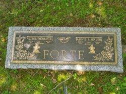 Annie Bridget <I>Walsh</I> Forte
