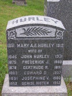 Mary Ann E <I>McGrath</I> Hurley