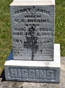Mary Jane <I>Cunningham</I> Higgins