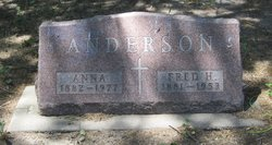 Fred H Anderson