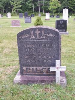 Mercy <I>Henney</I> Giles