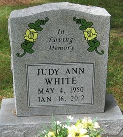 Judy Ann White