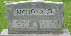 William Hersey McDonald