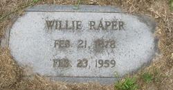 Willie Raper