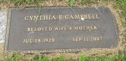 Cynthia E. Campbell