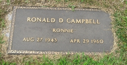"Ronald D. ""Ronnie"" Campbell"