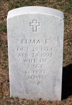 Elma E Boyd