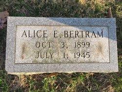 Alice <I>Hazelrigg</I> Bertram