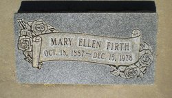Mary Ellen <I>Affleck</I> Firth