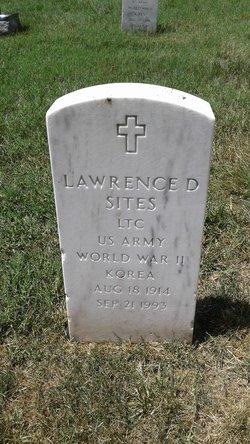 LTC Lawrence D Sites