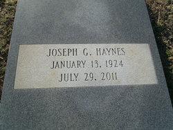 Joseph G Haynes