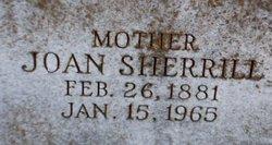 Mary Joan <I>Sherrill</I> Hall