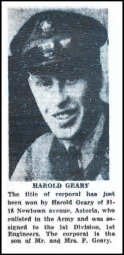 Harold P Geary