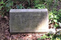 B. F. Pollan, Jr