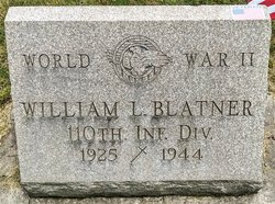 PFC William L Blatner