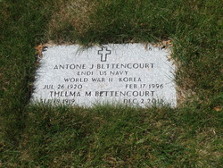 Antone J Bettencourt