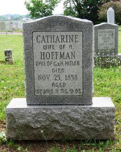 Catharine <I>Hitler</I> Hoffman