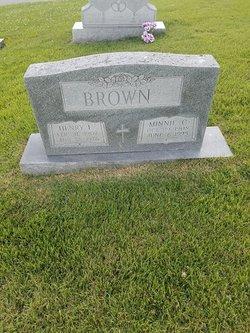 Minnie C. <I>Cockrell</I> Brown