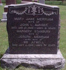 Mary Jane <I>Merriam</I> Aunger