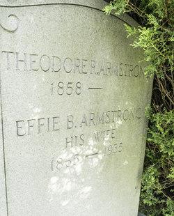 Effie B <I>Peckens</I> Armstrong
