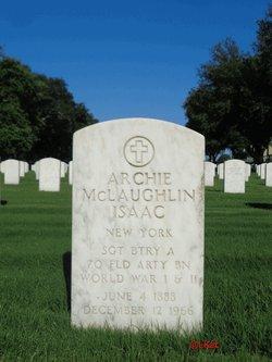 Archie McLaughlin Isaac