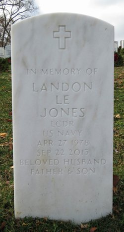 LCDR Landon Le Jones