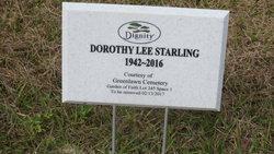 "Dorothy Lee ""Dot"" <I>Henry</I> Starling"