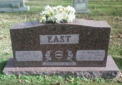 Ruth Jean <I>Lucas</I> East