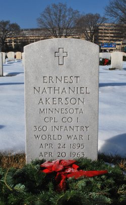 Ernest Nathaniel Akerson