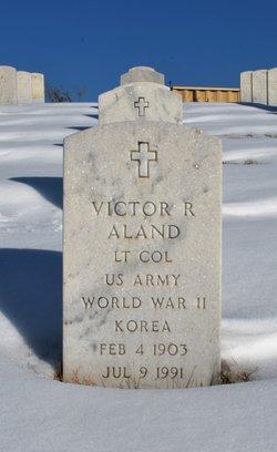 Victor R Aland