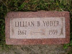 Lillian B. <I>McKee</I> Yoder
