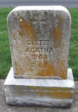 "Elizabeth ""Sr Agatha"" Schafer"