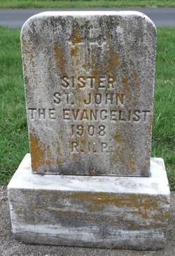 """M Marguerite """"Sr St John the Evangelist"""" Meyer"""