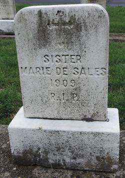 """Belle """"Sr Marie de Sales"""" McDevitt"""
