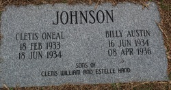 Billy Austin Johnson